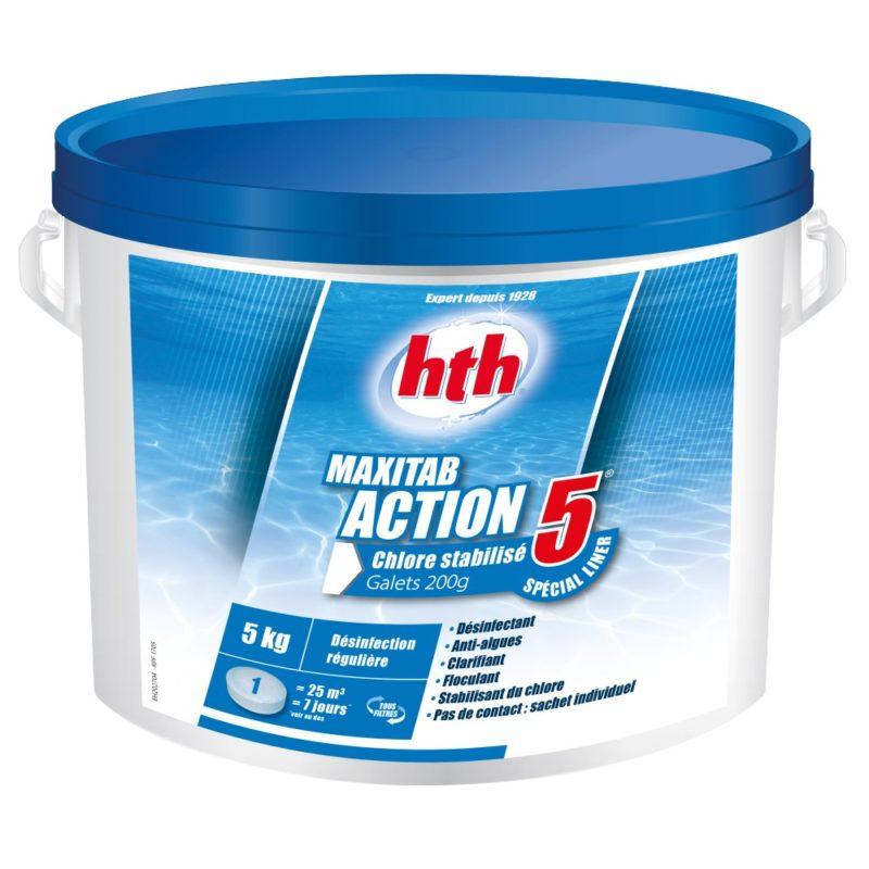 ACTION 5 spécial liner hth entretien piscine bulles de rêves 90000 belfort