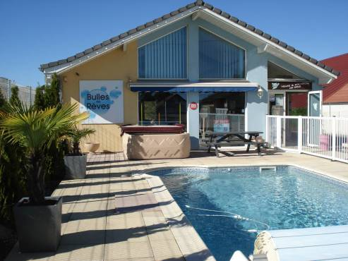 Magasin Bulles de Rêves - Bavilliers 90 Territoire de Belfort - Vente spas, produits et accessoires spas et piscines
