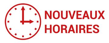 HORAIRES D'HIVER