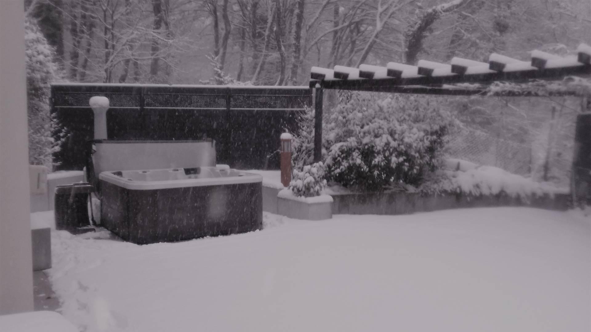 Spa O575 sous la neige