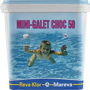 NOUVEAUTE : mini galet chlore choc