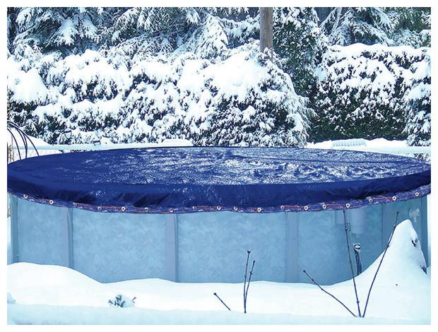 Couverture d'hivernage hors sol