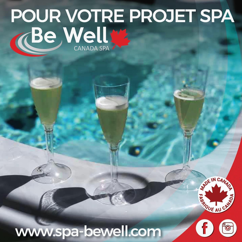 Votre spa,…..forcément un BE WELL Canada Spa !!!!